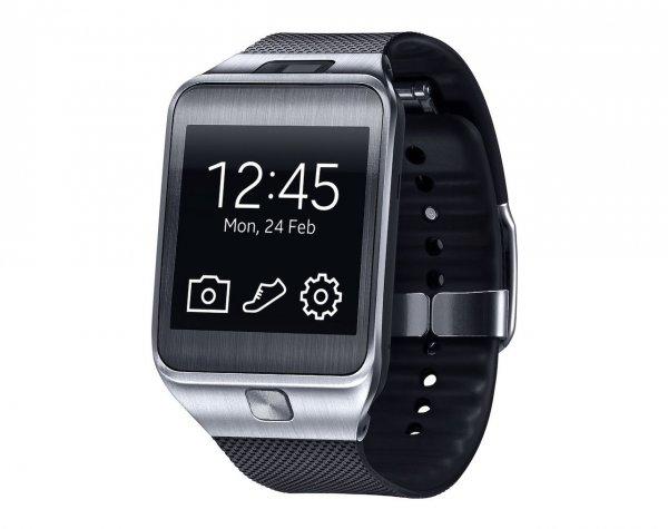Samsung Gear 2 SM-R380 Smartwatch Charcoal Black (Bestpreis)