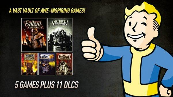 Fallout Bundle (Bundlestars) 20,39€