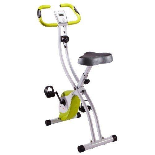 Ultrasport Heimtrainer F-Bike 150/200B mit Handpuls-Sensoren, ohne Rückenlehne, faltbar @amazon.de