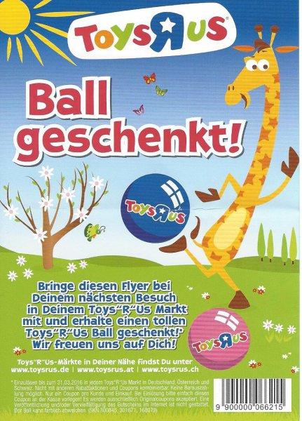 ToysRus Gratis Ball