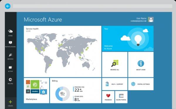Einen Monat kostenlos Microsoft Azure-Dienste testen