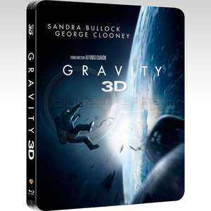 Gravity 3D - Limited Steelbook  Edition (inklusive 2D Version) Blu-ray @zavvi.de