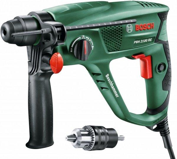 @Amazon.fr: Bosch Home and Garden Bohrhammer PBH 2100 SRE, SDS-Adapterbohrfutter, Tiefenanschlag, Zusatzhandgriff, Koffer (550 W, 20 mm max. Bohr-Ø in Beton) für 65€ inkl. Lieferung