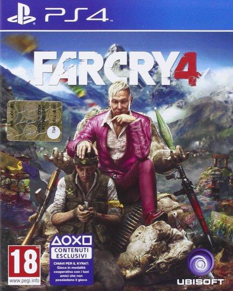 Far Cry 4 (Playstation 4) für 23,22€ bei Amazon.it