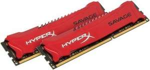Kingston Hyper X Savage 8GB Dual KIT DDR3 RAM [AMAZON BLITZANGEBOT]