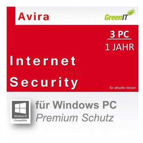 [GAME and FUN] Avira Internet Security Suite, 1 Jahr, 3 PCs für 11,22 €, PVG: ab 17,70 € [ebay]