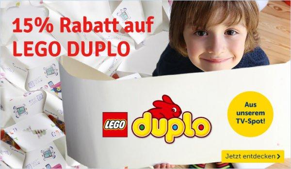 MyToys.de - 15% Rabatt auf Lego Duplo ab 40€
