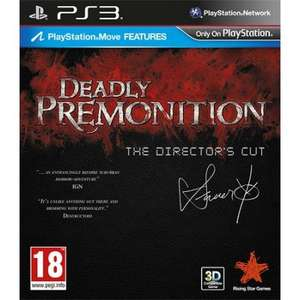 (PS3/TheGameCollection) Deadly Premonition - The Director's Cut für 9,92 €