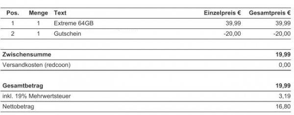Bei Energieanbieterwechsel über Check24: SANDISK EXTREME USB-Stick 3.0 64 GB für 19,99 €