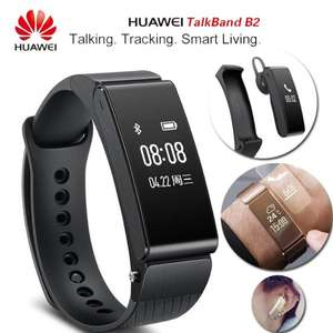 [Amazon.es] Huawei Talkband B2 (Smartwatch + Fitnesstracker + BT-Headset) für Android & iOS für 116,80€