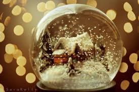 Schneekugel mit Bild für 4,99€