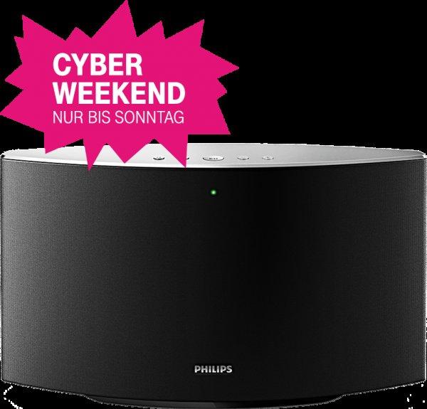[Telekom Cyber Weekend] Philips Spotify Multiroom Speaker 700M für 77€ inkl. VSK   PVG: 99,99€