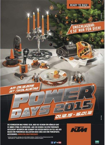 50€ Gutschein für KTM Powerwear, 200€ MBW