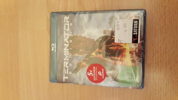 Saturn Hannover HBF Terminator Genisys Blu-ray 11€ mit 5€ Lieferheld Gutschein