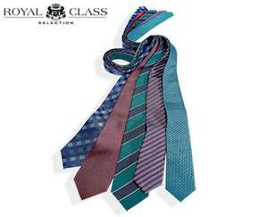 [Aldi Süd] ab 26.11.2015 ROYAL CLASS® SELECTION Hochwertige Seiden-Krawatten für 5,99€