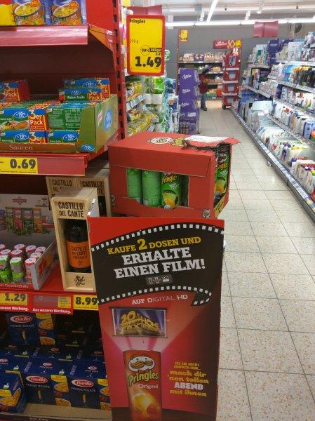 [Penny] Pringles Filmnacht - Zwei Dosen 2,98€, ein Film-Download gratis