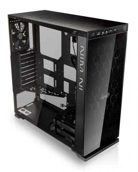 Amazon PC-Gehäuse In Win 805 Schwarz Midi-Tower