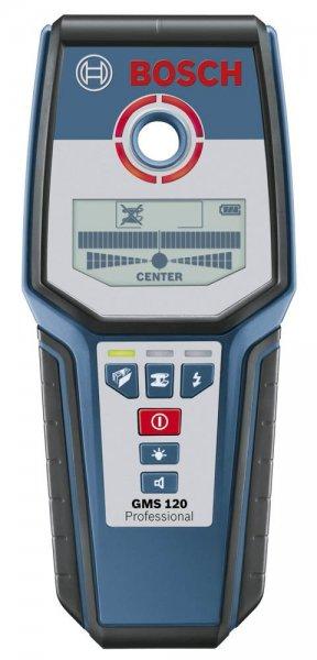Amazon Tagesangebot: Bosch Professional Multidetektor GMS 120, 120 mm Erfassungstiefe, Trageschlaufe, Schutztasche, 1 x 9 V-6LR61 (Block) Batterie @ 66,99 Euro inkl. Versand