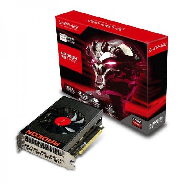 Sapphire Radeon R9 Nano 4GB