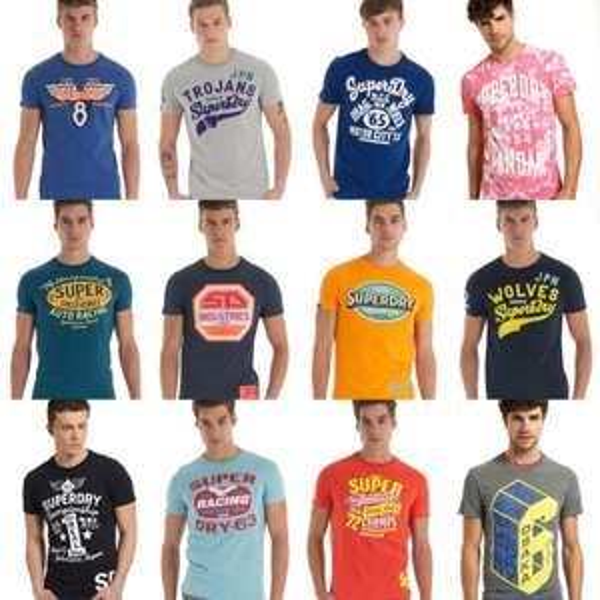 Superdry T-Shirts bei Ebay für 14,95€ inkl. Versand