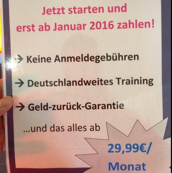 Fitness First Mitgliedschaft -bundesweit trainieren-