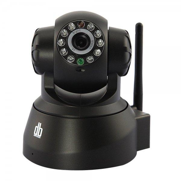 Amazon.de: Pan Tilt WLAN IP Kamera WiFi Zwei-Wege Audio Nacht Vision Nachtsicht IP Netzwerk Kamera ip cam Für MAC / Windows / Linux / Android und IPhone, support Alarm Ausgang, Alarm per Email, FTP, Zugriff über das Internet, Free Mobile Remote Viewi