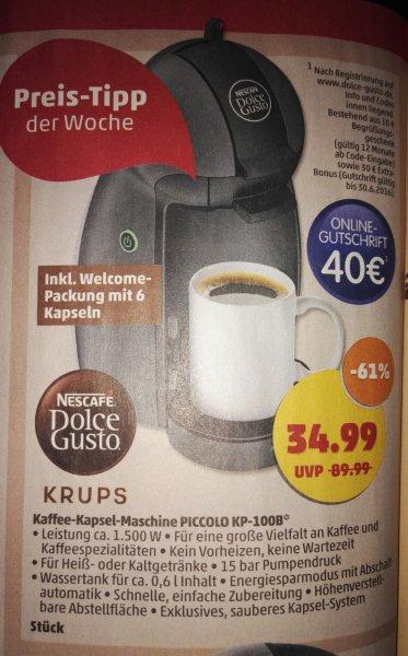 [Penny] Krups Dolce Gusto Kaffeemaschine