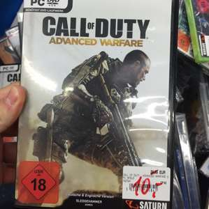 Saturn Hattingen: Call of Duty: Advanced Warfare PC 10€ (Idealo 15,40€)
