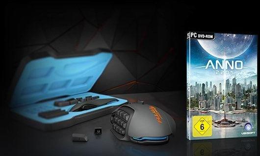 [Amazon] ANNO 2205 Upay Key gratis beim Kauf einer ROCCAT Nyth MMO Maus
