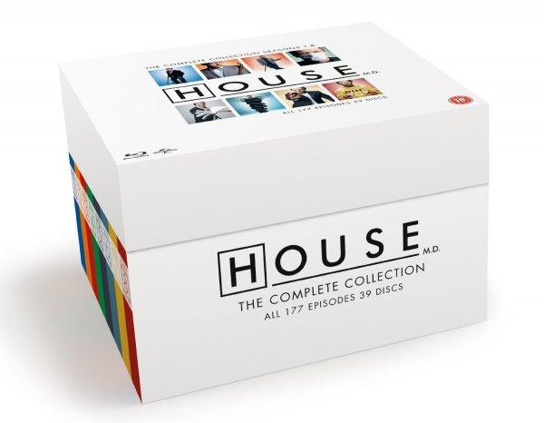 [Amazon.uk Cyber Monday ] Dr. House Blu -ray Collection (Staffeln 1 - 8) für 55€ inkl. Versand