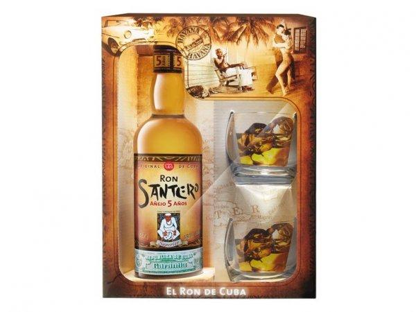 [Lidl] Geschenkset kubanischer Rum Santero (5 Jahre, Kuba)