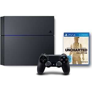 [Amazon Cyber Monday / Black Friday Countdown] PlayStation 4 weiß und schwarz, 500 GB, neue Revision CUH-1216A + Uncharted:The Nathan Drake Collection