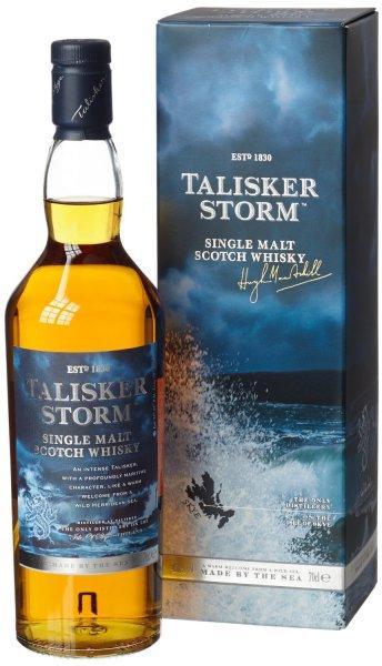 [Amazon Cyber Monday / Black Friday Countdown] [Prime] Talisker Storm Single Malt Scotch Whisky (1 x 0.7 l)