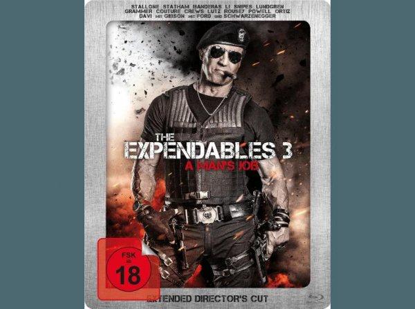 [Saturn Super Sunday] The Expendables 3 - A man´s Job (Exklusives Saturn Steelbook mit Lentikularkarte) - (Blu-ray) für 8,99 €