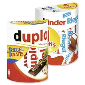 [NETTO MD] Kinder Riegel oder Duplo 10+1 für 1,39€ (Do.-Sa.)