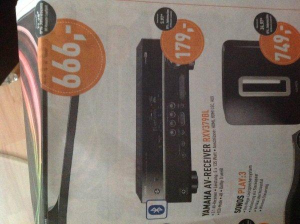 Lokal: [Berlet - Ennepetal] AV-Receiver Yamaha RX-V379 für 179,- € (Idealo: 265,- €)