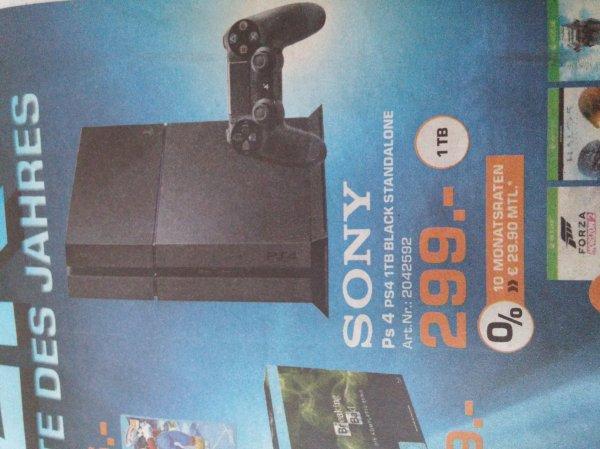(Lokal Aachen) SATURN Playstation 4 1TB für 299€