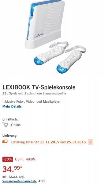 [LIDL Online] Lexibook TV-Spielekonsole