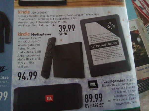 [Marktkauf Westfalen] Kindle (2014) für 39,99€, JBL Flip 3 für 89,99€