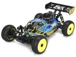 LOSI 8IGHT Buggy 4WD echt Benziner RTR 2.4GHz AVC inkl. Starterbox