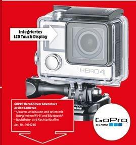 MediaMarkt MTZ // GoPro HERO 4 Silver Adventure Action Cam