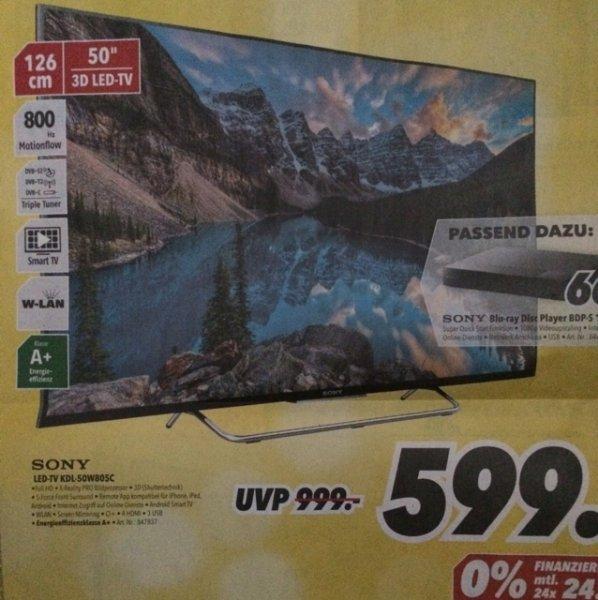 [Bundesweit? Medimax] Sony KDL 50-W805C