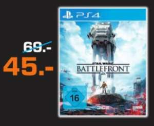 [Saturn Moers] Star Wars: Battlefront PS4 für 45 EUR (offline)
