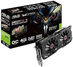 Asus Nvidia GeForce Strix GTX970-DC2OC-4GD5 für 329€ auf Amazon