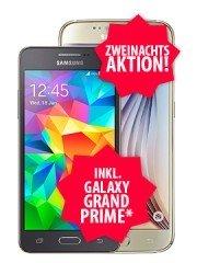 Samsung S6 32GB + Samsung Galaxy Grand Prime mit otelo Fan-Tarif (19,04€/Monat) für 109 €