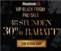 Black Friday Pre-Sale bei Reebok - 30% Rabatt auf alles außer Sale- und YourReebok-Artikel *UPDATE* Jetzt auch auf Sale und YourReebook und versandkostenfrei!