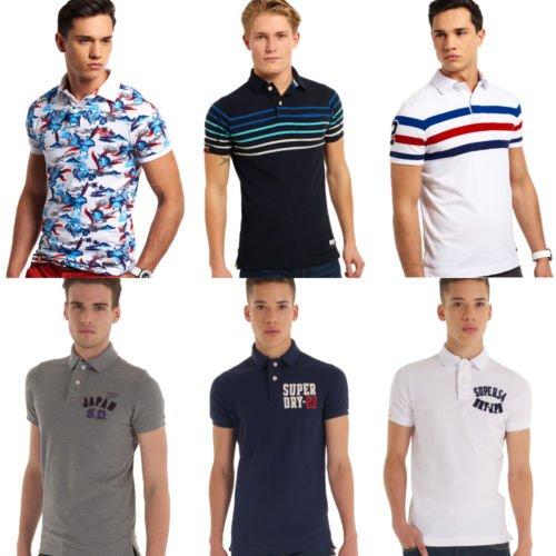 [ebay] Superdry Herren Polo Shirts verschiedene Modelle für je 24.99 meisten 100% Baumwolle