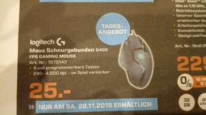 LOGITECH G402 GAMING MOUSE (lokal MG)