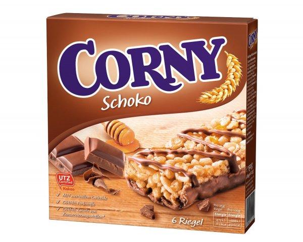 Amazon Prime : Corny Müsli-Riegel Schoko, 5er Pack (5 x 150g) - nur 4,38 €