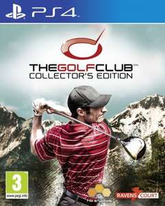 The Golf Club - Collector's Edition (PS4) PAL @coolshop für 23,95 €